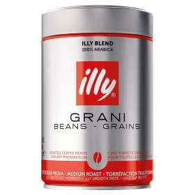 Illy Espresso Roasted Coffee Beans/Ground Coffee £4.50 @ Asda
