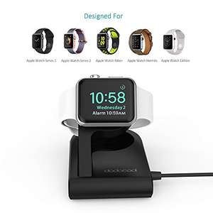 Dodocool Apple Watch Wireless Magnetic Charging Dock Nightstand (£16.99 - Amazon) w/ code QRBWBDD7 Sold by aoputek and Fulfilled by Amazon