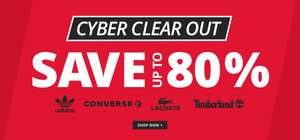 Cyber week deals , up to 80% off at Mandmdirect .