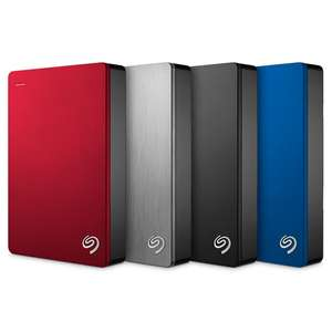 Seagate Backup Plus 5 TB USB 3.0 Portable 2.5 inch External Hard Drive for PC and Mac £121.99 / 4 TB £95.99 @ Amazon