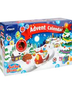 ** ONLY 29 AVAIL** Vtech Toot-Toot Advent Calendar £10 & Free C&C (£15 delivered) @ Selfridges Online