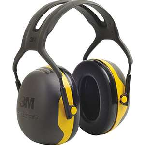 3M Peltor X2A Earmuffs 31dB £5.64 (Prime) / £9.63 (non Prime) at Amazon with code 15MMM17
