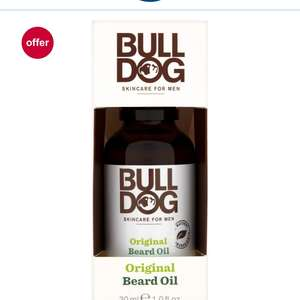 Bulldog Original Beard Oil £5.50 each & 2 for 1 @ Boots