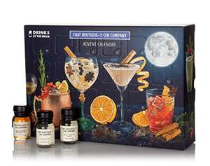 Drinks by the Dram 2017 That Boutique-y Gin Company's Advent Calendar, 30 ml, Case of 24 - £59.97 Sold & Fulfilled by Amazon