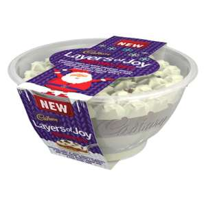 Cadbury layers of joy Christmas trifle 550g only £2 @ Tesco