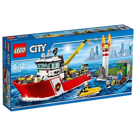 LEGO City 60109 Fire Boat - £33.97 @ John Lewis