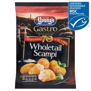 Young's Premium Whole Scampi (220g) was £5.00 now (BOGOF) @ Waitrose