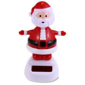 Spread a little festive cheer with this Solar Shaking Santa Claus £1.03 delivered @ gearbest