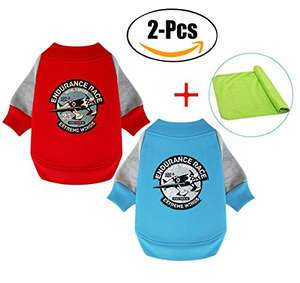 2 Pcs (RED+BLUE) Dog Coats (M) £5.99 Prime (£9.98 Non Prime) (Sold by Legendog Direct and Fulfilled by Amazon)