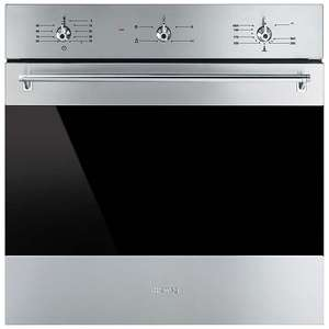Smeg SF6341GVX Classic Built-In Single Gas Oven, Stainless Steel - £319 @ John Lewis