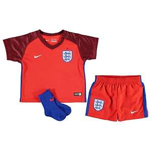 Official 2016 2017 England Away Infants Kit 18/24M - Sold & Fulfilled by Amazon - £10 (Prime) £13.99 (Non Prime)