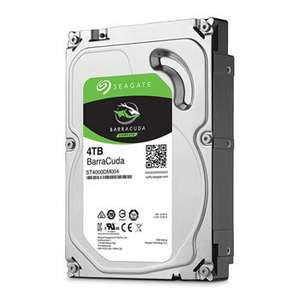 "Seagate 4TB BarraCuda 3.5"" SATA HDD/Hard Disk Drive ST4000DM004 from SCAN - £92.47 Delivered"