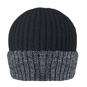 MENS RIBBED 3M THINSULATE LINED INSULATING WARM WINTER BEANIE HAT IN MELANGE COLOURS - £2.18 Delivered @ Amazon - Dispatched from and sold by PARIELLA