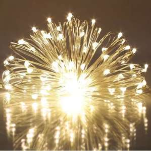 50 Warm White Ray LED Lights (5M) - 60p delivered @ Rosegal
