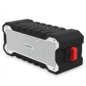 AUKEY Outdoor Bluetooth Portable Speaker Water Resistant Lightning Deal £20.79 PRIME Sold by yueying and Fulfilled by Amazon