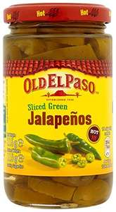 Pack of 12 Old El Paso Sliced Green Jalapenos - Only £6.67 delivered (Prime) £11.37 (Non Prime) from Amazon!