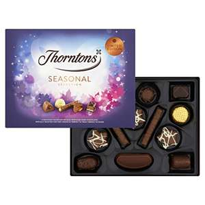 (Pack of 3) Thorntons Seasonal Selection Chocolate, 161 G - £9 (Prime) £13.74 (Non Prime) @ Amazon