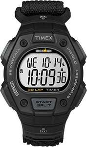 Ugly but cheap Timex men's watch, Timex Ironman 30 ® ® Classic Nylon TW5K90800 Digital Display - Sold & Fulfilled by Amazon - £28.66