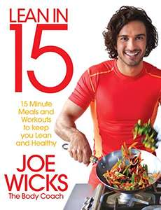 Lean in 15 – The Shift Plan: 15 Minute Meals and Workouts £2.49 at B&M stores