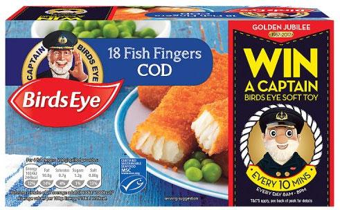 Birds Eye 18 Cod (58%) Fish Fingers frozen (504g) was £4.15 now £3.00 @ Waitrose and Morrisons