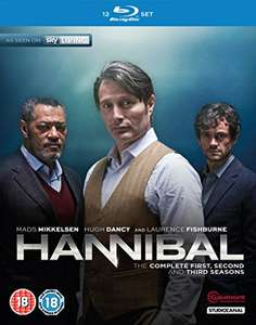 Hannibal complete TV series blu-ray - £13.99 / £15.98 @ Amazon