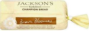 Jackson's Yorkshire Champion Bread Brown Bloomer / Champion White Bloomer Loaf (800g) (800g) was £1.45 now £1.08 @ Waitrose