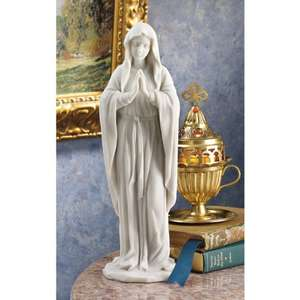 Design Toscano Blessed Virgin Mary Bonded Marble Statue - £9.99 (Prime) £14.74 (Non Prime) @ Amazon