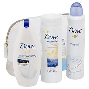 Dove Beauty Collection Washbag Gift Set - £4.50 Prime / £9.25 non Prime @ Amazon