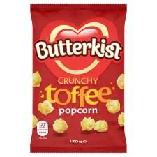 Butterkist popcorn varieties half price at Tesco (£1.49 down to £0.74)