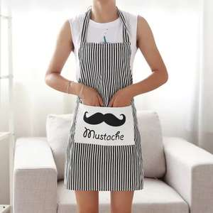 Aprons from 56p - 61p each - All 3 for £1.73 using code @ Gearbest (3 designs to choose from)