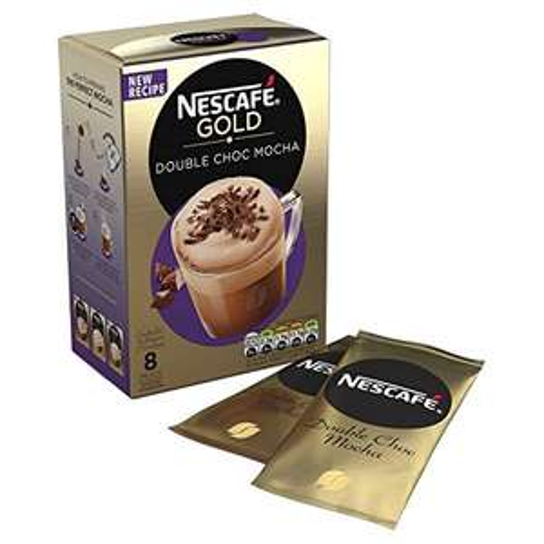 NESCAFÉ Gold Double Choc Mocha Coffee, 8 Sachets, 23 g - Amazon Pantry - £1.25 (Prime exclusive)