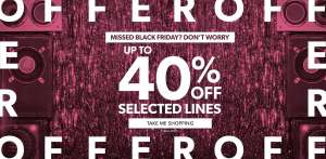 Seasonal offers up to 40% off at New Look