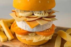 Hungryhouse is letting you order a burger made ENTIRELY from cheese