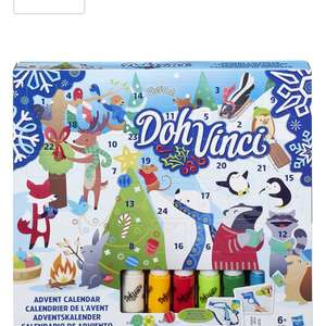 Doh Vinci advent calendar £4.49 add on price at Amazon with a £20 spend across site