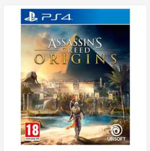 Assassins creed Origins at Smyths Toys for £34.99