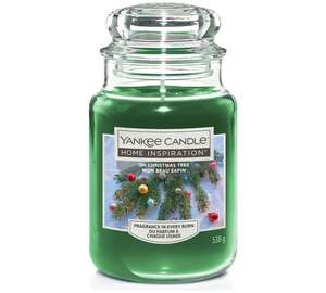 Yankee Candle Large Jar - Oh Christmas Tree at Argos for £11.99