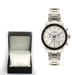 Men's Rotary Watch with Gift Box + 2Yrs Warranty - £79 delivered w/code @ Watches2u
