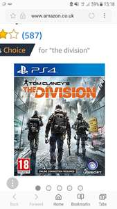 The division (PS4) just £8.49 @ amazon (Prime Exclusive)