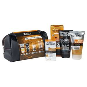 L'Oreal Men Expert The Expert Washbag 4- Piece Gift Set - was £10 now £7.50 (Prime) or Tesco grocery & instore / £11.49 (Non Prime) @ Amazon
