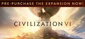 Sid Meier's Civilization VI, £24.99 from steam