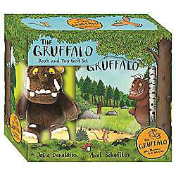 The Gruffalo: Book and Toy Gift Set - The Bear Who went Boo Book and Toy Gift Set - Little Miss Hug Gift Set -  £6 each @ Tesco Direct