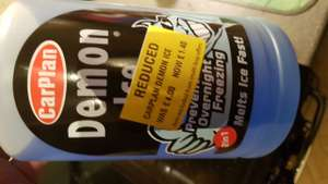 Demon Ice 1 litre £1.40 reduced down from £4 Morrison's Coalville