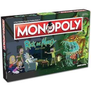 Rick and Morty Monopoly - I Want One of Those - £25.99