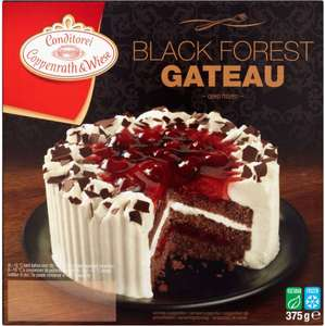Coppenrath & Wiese Black Forest Gateau (375g) / Coppenrath & Wiese Chocolate Gateau (350g) was £2.25 now £1.50 @ Waitrose