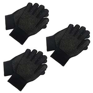 3 Pairs Adults Magic Stretch Driving Gloves With Grip Winter Warmer Accessory (Amazon) Free delivery from Underworld Online