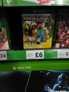 Minecraft Xbox one edition instore at Tesco for £6