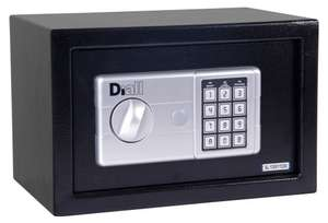 Small digital safe...others avaialble at B&Q half price or better on sale for £13.50