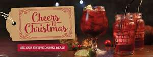 Christmas Drinks Deal at Toby Carvery incl. Prosecco at £10.99