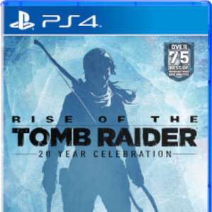Rise of the tomb raider 20 year celebration edition (PS4) £16.99 or £15.29 with code WELCOME for first time customers @ Zavvi