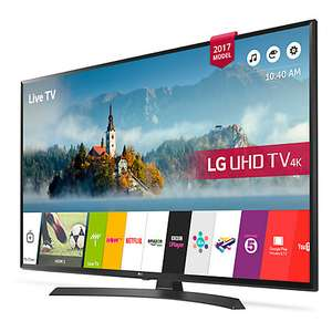 "LG 55UJ635V LED HDR 4K Ultra HD Smart TV, 55"" with Freeview Play 5 year warranty. £539 @ John Lewis"
